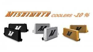 Weekly special: Mishimoto intercoolers -10 %