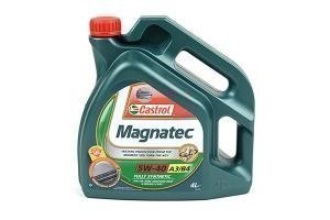 Castrol Magnatec 5w30 and 5w40 engine oils