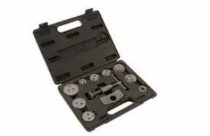 Brake piston tool kit, 11 pcs